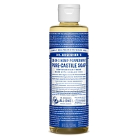 Dr. Bronner's Pure-Castile Liquid Soap - Peppermint 237ml-946ml