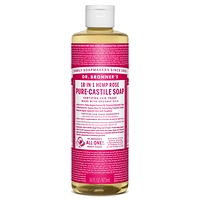 Dr. Bronner's Pure-Castile Liquid Soap - Rose 237ml-946ml