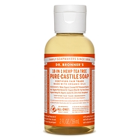 Dr. Bronner's Pure-Castile Liquid Soap - Tea Tree 59ml
