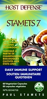Host Defense Mushrooms Stamets 7 60 Vegetarian Capsules