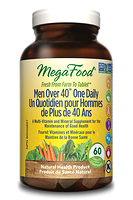 MegaFood Men Over 40 One Daily 72 tablets