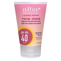 Alba Botanica Facial Sunscreen Lotion SPF 40 113 ml