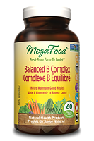 MegaFood Balanced B Complex 72 tablets