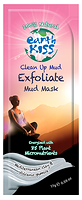 Earth Kiss Exfoliate Clean Up Mud Mask 17 g