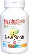 New Roots Pau D'Arco Taheebo 500 mg 100 caps