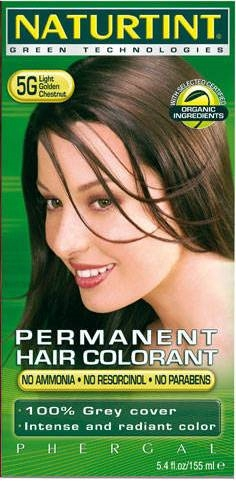 Naturtint Permanent Hair Colour 5G Light Golden Chestnut