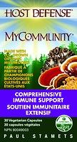 Host Defense Mushrooms MyCommunity 60 Vegetarian Capsules