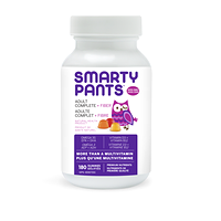 SmartyPants Adult Complete + Fiber Multivitamin 180 Gummies