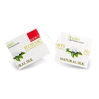Radius Natural Silk Dental Floss Biodegradable 20 Sachets