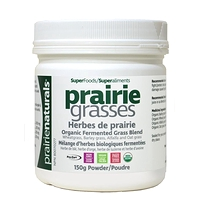 Prairie Naturals Prairie Grasses Organic Fermented Grass Blend 150g Powder