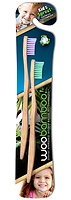 WooBamboo Toothbrush Kid's Sprout 2-Pack