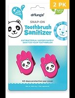 Dr. Tung's Kids Snap-On Toothbrush Sanitizer 2-pack