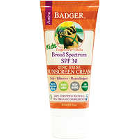 Badger Kids Sunscreen Cream SPF 30 Tangerine & Vanilla  87 ml