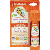 Badger Kids Sport Sunscreen Stick SPF 35 Tangerine Vanilla 18.4 g