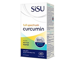 Sisu Full Spectrum Curcumin 90 Liquid Soft Gels