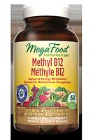 MegaFood Methyl B12 60 Tablets