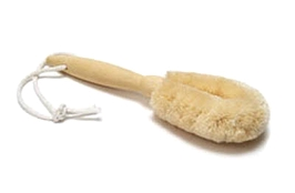 "Merben Bikini Brush Medium / Sisal w Pinewood Handle 7"" Long"