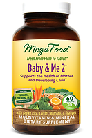 MegaFood Baby & Me 2 Prenatal Doctor Formulated 60 tablets