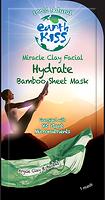 Earth Kiss Hydrate Miracle Clay Facial Bamboo Sheet Mask 17 g