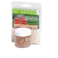 MOOM Organic Hair Removal Face & Travel Kit