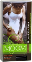 MOOM Express Natural Wax Strips Legs & Body 20 strips (10 double sided)