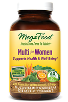 MegaFood Multi for Women Doctor Formulated 60 Capsules