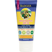 Badger Active Sunscreen Cream SPF 30 Lavender 87 ml