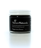 Nelson Naturals Whitening Toothpaste with Activated Charcoal 60 ml
