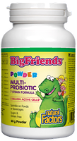 Natural Factors Big Friends Multi-Probiotic 7 Strain Formula Powder 60g