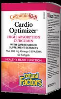 Natural Factors CurcuminRich Cardio Optimizer 60 Softgels
