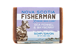 Nova Scotia Fisherman Soap Bar Sea Fennel & Bayberry 136g