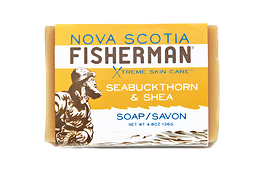 Nova Scotia Fisherman Soap Bar Seabuckthorn & Shea 136g