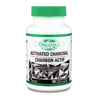 Organika Activated Charcoal 90 Vegetarian Capsules