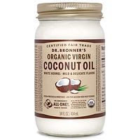 Dr. Bronner's Organic Virgin Coconut Oil - White Kernel 414ml
