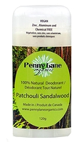 Penny Lane Organics 100% Natural Deodorant Patchouli Sandalwood 120g
