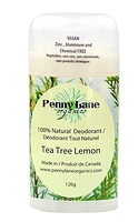 Penny Lane Organics 100% Natural Deodorant Tea Tree Lemon 120g