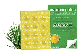 Purple Frog Outdoor Patch with Lemongrass & Citronella 12-Count