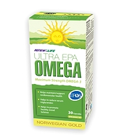 Renew Life Norwegian Gold Ultra EPA Omega 30 Fish Gels