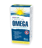 Renew Life Norwegian Gold Critical Omega 60 Fish Gels