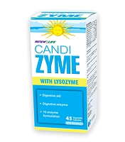 Renew Life CandiZYME with Lysozyme 45 Vegetable Capsules