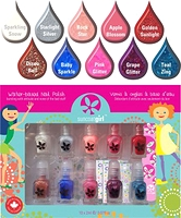 Suncoat Girl Water-based Nail Polish Flare & Fancy 10 x 2ml