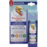 Badger Sport Sunscreen Stick SPF 35 Unscented 18.4 g