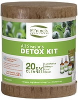 St. Francis Herb Farm All Seasons Detox Kit 20 Day Cleanse