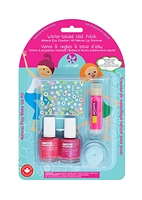 Suncoat Girl Water-based Nail Polish Natural Play Make Up Kit - Little Princess