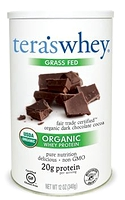 Tera's Whey Organic Whey Protein Plain Dark Chocolate 340g