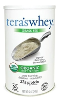 Tera's Whey Organic Whey Protein Plain Unsweetened 340g