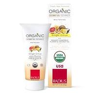 Radius Organic Coconut Oil Toothpaste Whitening Ginger Citrus 85 g