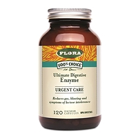 Udo's Choice Ultimate Digestive Enzyme URGENT CARE 120 Vegetarian Capsules