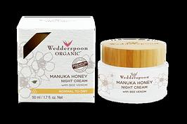 Wedderspoon Organic Manuka Honey Face Cream with Bee Venom 50ml