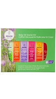 Weleda Body Oil Starter Kit 6 x 10 ml
